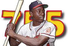 Hank Aaron's 755 Home Runs